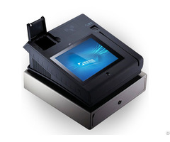 T508a Q Android 10 Inch Pos Payment Hardware With Free Sdk 3g Nfc Cash Drawer Ms Card Reader