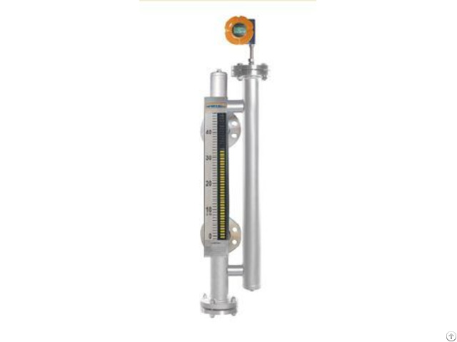 Dual Chamber Technical Magnetic Level Gauge