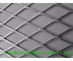 Flattened Expanded Metal Sheet