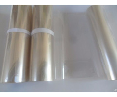 Clear Inside Silicone Coated Pet Release Film Witn Out Side Corona