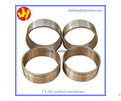 Excavator Bronze Bushing Thin And Durable