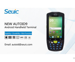 Portable Warehouse Pda Barcode Scanner New Autoid9