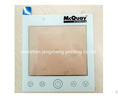 Pmma 1 0mm Acrylic 3m9495mp Overlay Front Panel Nameplate Transparent Surface Silkscreen Printing