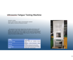 Ultrosonic Fatigue Testing Machine