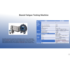 Biaxial Fatigue Testing Machine
