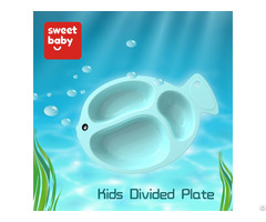 Eco Plastic Feeding Supplies Kids Plate Baby Dishes