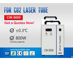 Cw5000 Water Chiller For Co2 Laser Cutting Machine 220 110v 50 60hz