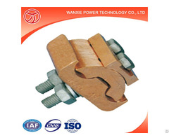 Shaped Copper Parallel And Groove Clamp