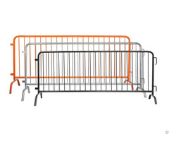Steel Barricades Efficient Crowd Management System For Your Site