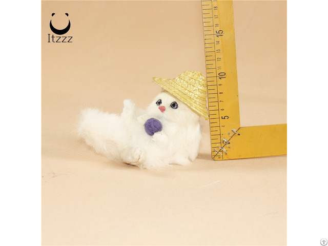 High Quality 2019 Cute Home Decoration Cat Simulation Animals