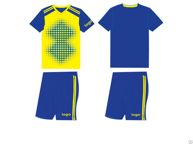 Personalized Embroidery Sublimation And Printed Football Sportwear Outdoor Soccer Jerseys
