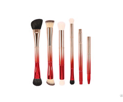 Double End 6 Pieces Brush Collection