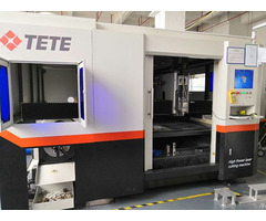 4000w Laser Cutting Machine For Metal Steel 20mm Heavy Use