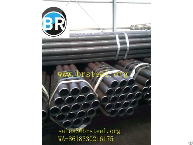 Api Astm Din Bs St 52 S355jrh Q345b A572 Grade50 Carbon Seamless Steel Pipe 196 5 Mm Mechanical