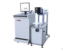 Co2 Laser Marking Machine For Date Exp Sn In Bottles Bags