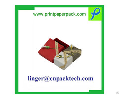 Customized Small Lid And Base Trinket Gift Box