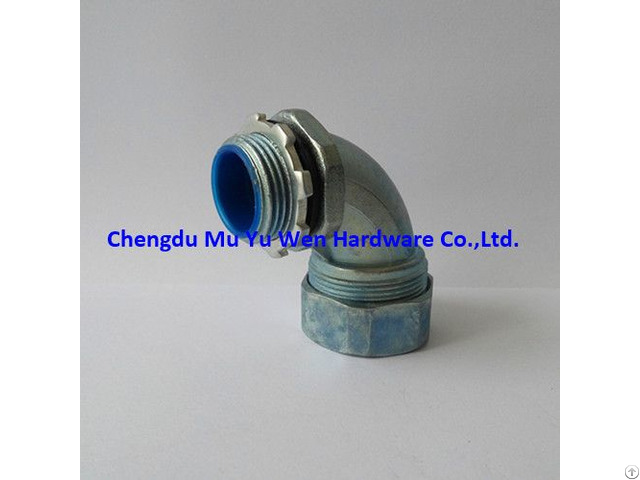 Zinc Die Cast 90d Elbow Liquid Tight Conduit Connector