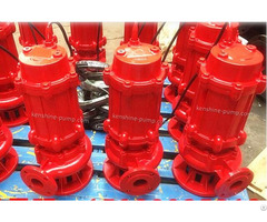 Wqr High Temperature Submersible Sewage Pump
