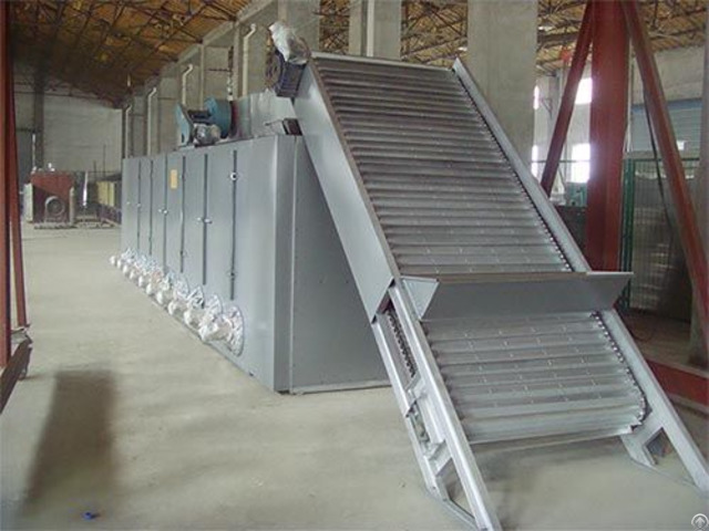 Large Capacity Mesh Belt Dryer Band Dryers For Vegetables Building Materials Drying