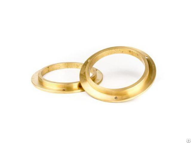 Brass Cnc Machining Retaining Ring