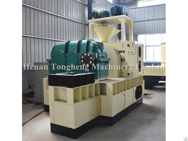 Double Roller Briquetting Machine For Briquette Making