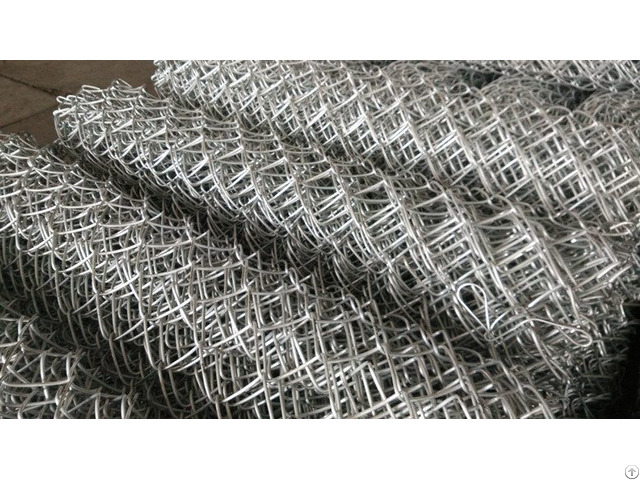 Heavy Zinc Coated Chain Link Mesh