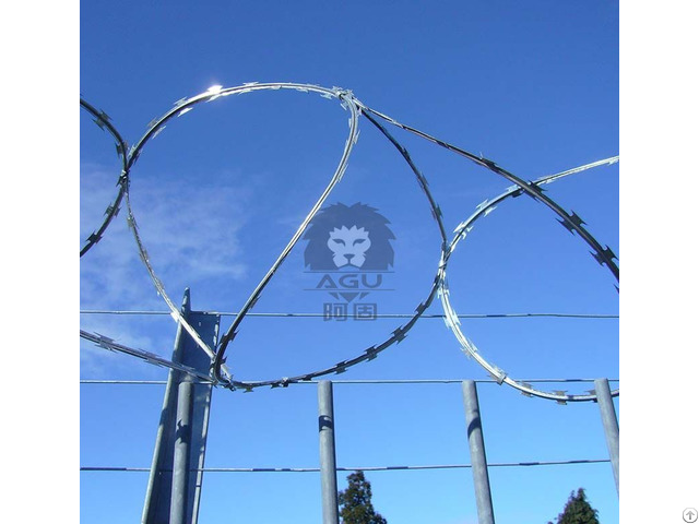 Concertina Razor Barbed Wire Fencing
