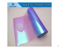 Bt210 Transparent Purple Rainbow Film