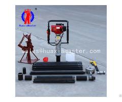 Qtz 3 High Efficiency Portable Earth Drilling Rig Core Sample Machine Tools