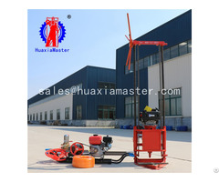 High Quality Qz 2c Small Borehole Drilling Machine With Gasoline Engine