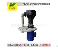 Vertical Pump Sec5022 Frpp