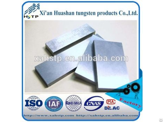 Hot Sale Factory Tungsten Alloy Block