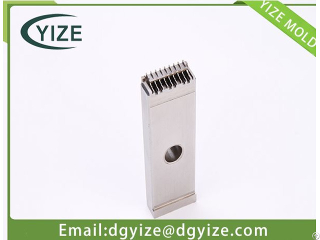 Iso Automobile Connector Parts Plastic Mould For Electronic Part Supply