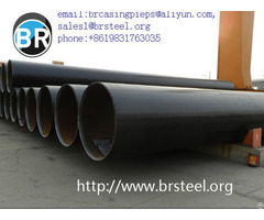 Api 5l Longitudinal Submerged Arc Welded Lsaw Steel Pipe