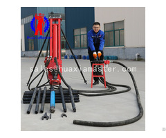 High Efficient Full Pneumatic Kqz 100 Rock Water Conservancy Drilling Machine Rig