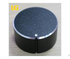 Durable Black Aluminum Alloy Volume Knob