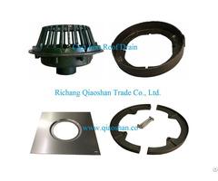 Diameter 15 1 4 Inches Large Sump Cast Iron Roof Drain