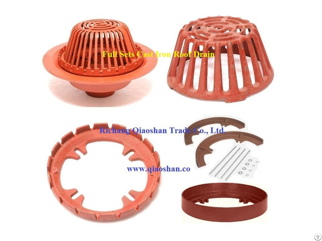 Qsf3000 Series Cast Iron Roof Drain