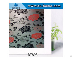 Pvc Indoor Decorative Self Adhesive Window Film