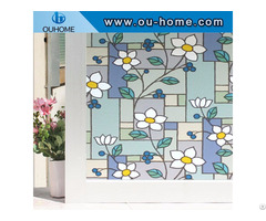 3d Static Decorative Privacy Window Glass Sticker