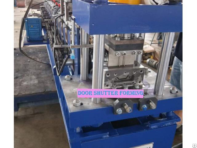 Equipment Rolling Shutter Door Slat Roll Forming Machine