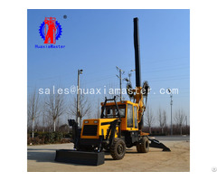 Huaxia Master Sale 13 5 Meters Wheeled Rotary Pile Drilling Rig With High Quality