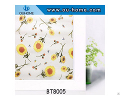 Frosted Privacy Adhesive Bathroom Window Film