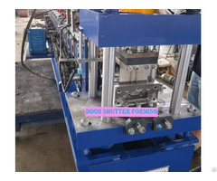Equipment Rolling Shutter Door Slat Roll Forming Machine