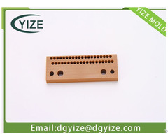 Manufacturing Precision Plastic And Bakelite Inserts Dongguan Yize Mould Co Ltd