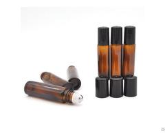 10ml Amber Glass Roll On Bottle