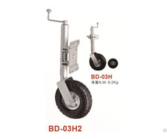 Jockey Wheel 250mm 10 Pneumatic With Swing Away Bracket