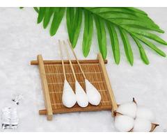 "6"" Bamboo Medical Gynecological Examination Cotton Buds Applicator"