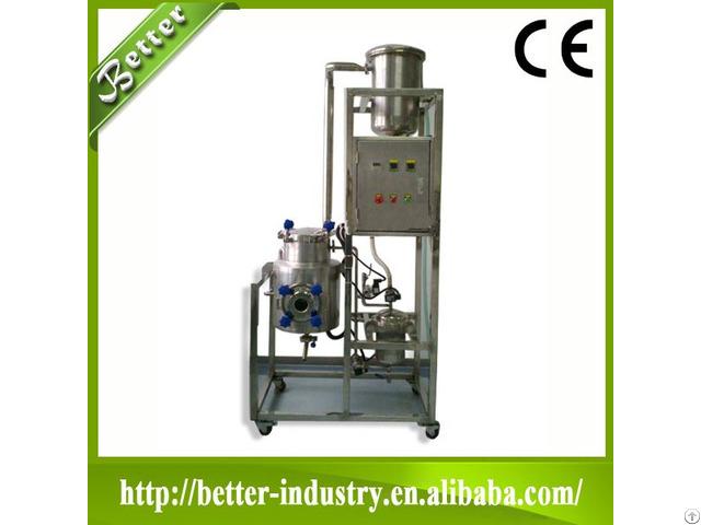 High Efficient Plants Herbal Leaf Flowers Essential Oil Distillers Extraction Machine