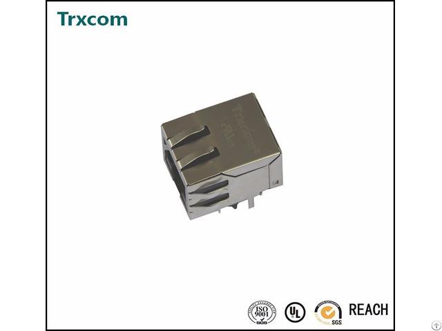 We 7499111446 Trxcom 1000base T Tab Down Rj45 Magjack